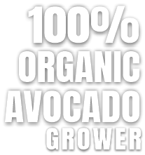 100% organic avocado grower